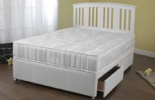 "ampian ortho divan bed ""very firm support"""